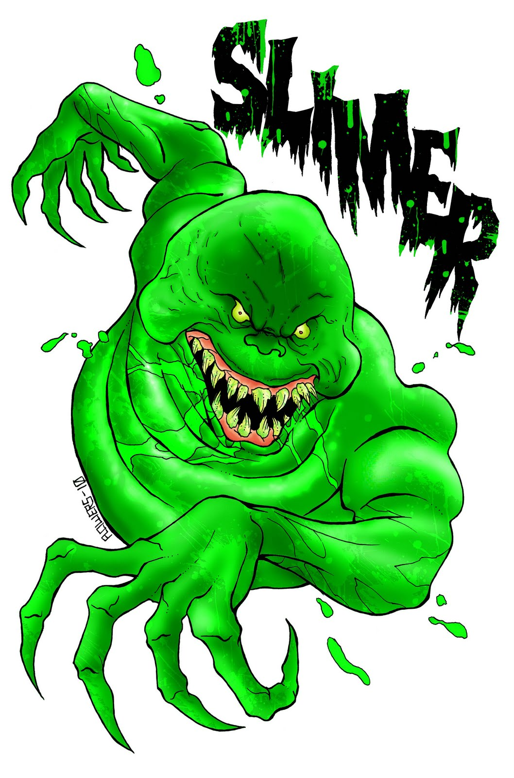 Which Monster, which weapon 06-15-10+SLIMER_colored_lettered