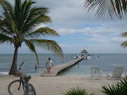 We were skimming the lagoon surface at 45mi/hr with a palm tree island on . (belize snorkling )