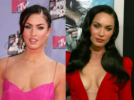 megan fox before and after surgery pictures 2010. OMG : Megan Fox.. what have