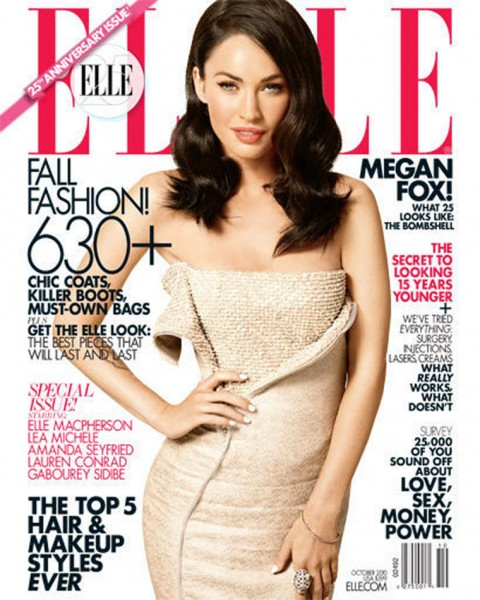 Megan Fox Elle Magazine 2010. Megan Fox
