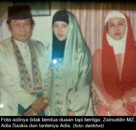 Bukti Foto Skandal Zainuddin MZ dengan Aida Palsu