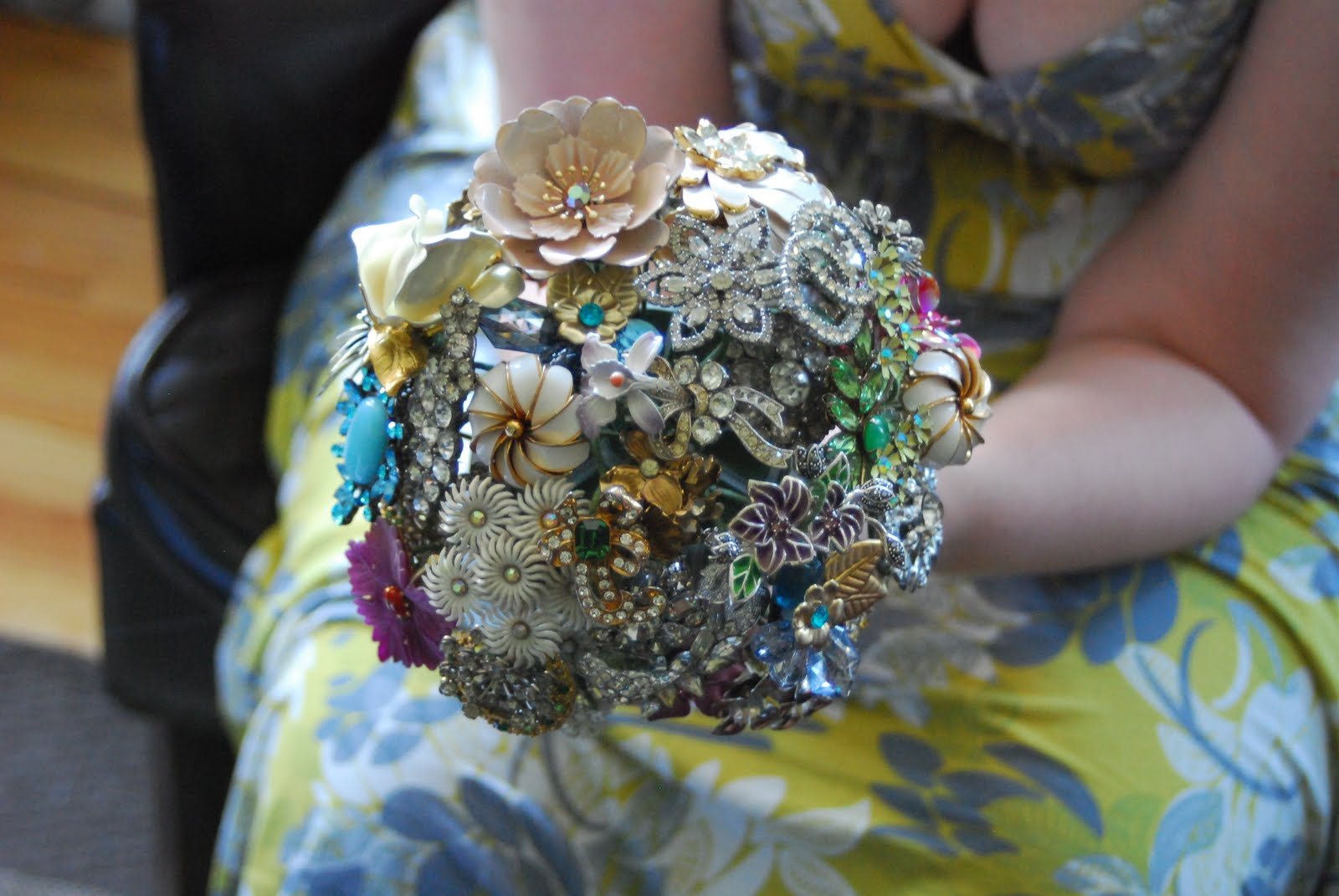 The Seamstress Of Avalon Brooch Bouquet Diy Part 1