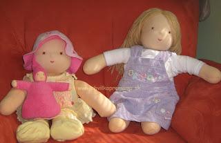 Nejaké odkazy na stránky s návodmi šitia waldorfských bábik už