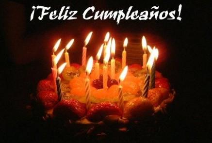 ... además de celebrar la resurrección del Señor, es mi cumpleaños
