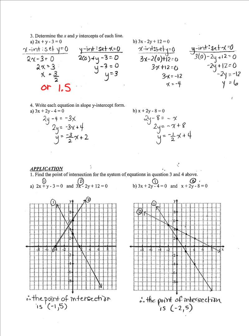 grade 9 math test with answers pdf