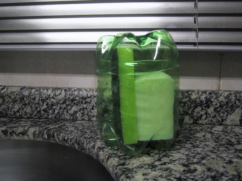 Porta Spugne Da Bagno : Vivere verde riciclaggio porta spugne e sapone fatto di