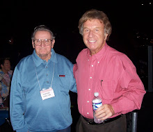 Here's a pic of Dad with his Hero of Southern Gospel music, Bill Gaither.