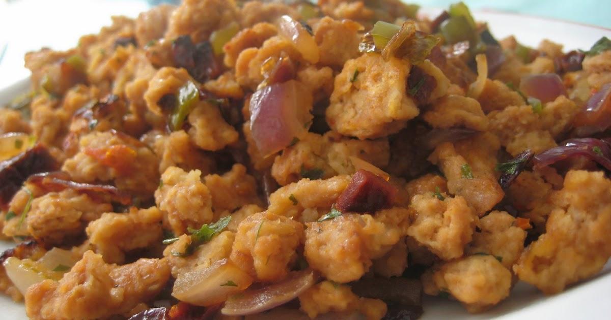 La cocina de valduecina soja texturizada con verduritas for Cocinar soja texturizada