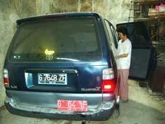 Mobil dinas digadaikan