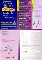 1º SEMINÁRIO DE ARTE COM BALÕES