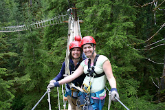 Shauna and I on our zip-lining adventure!