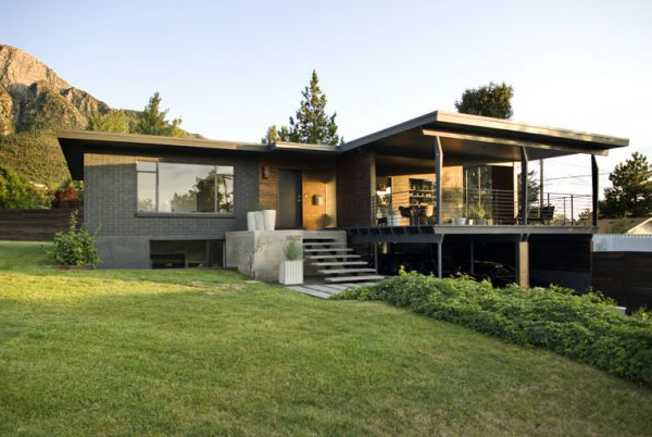 Mid century modern or just modern atelier drome for Home designs utah