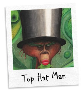top hat man