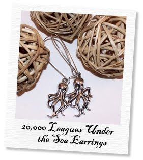 20000 leagues under the sea earrings