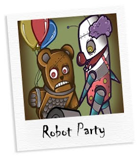 robot party