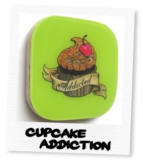 cupcake addiction in green
