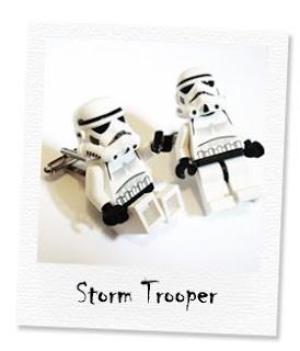 storm strooper cufflinks