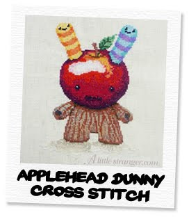 applehead dunny cross stitch pattern
