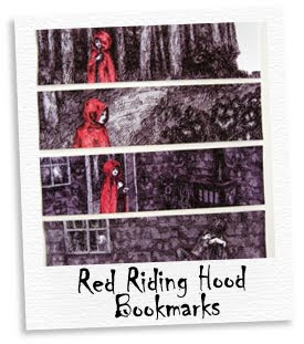 red riding hood bookmarks