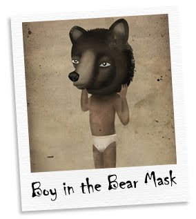 boy in the bear mask