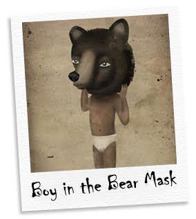 boy in the bear mask
