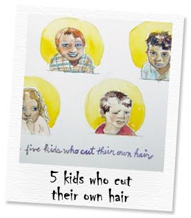 5 kids who cut their own hair
