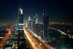 Dubai noću