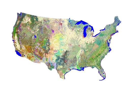 Online Map Viewer for Land-Cover Classification Map