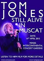 Tom Jones Concert Muscat