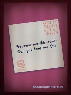 Good English campaign - Singapore