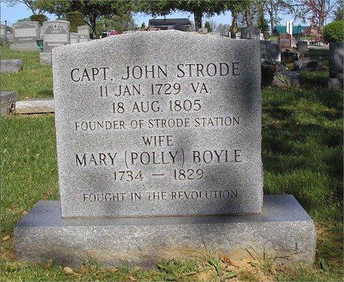 John & Molly's gravestone