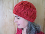 FREE KNITTING PATTERN --              FALLING LEAVES HAT