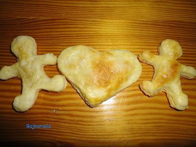 Ciasteczka prawie francuskie:)