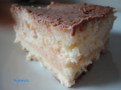 Ciasto serowe z cytrynową nutą