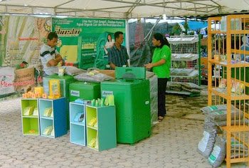 Menularkan Virus Visi Green & Gardening Spirit ! Melalui Pameran