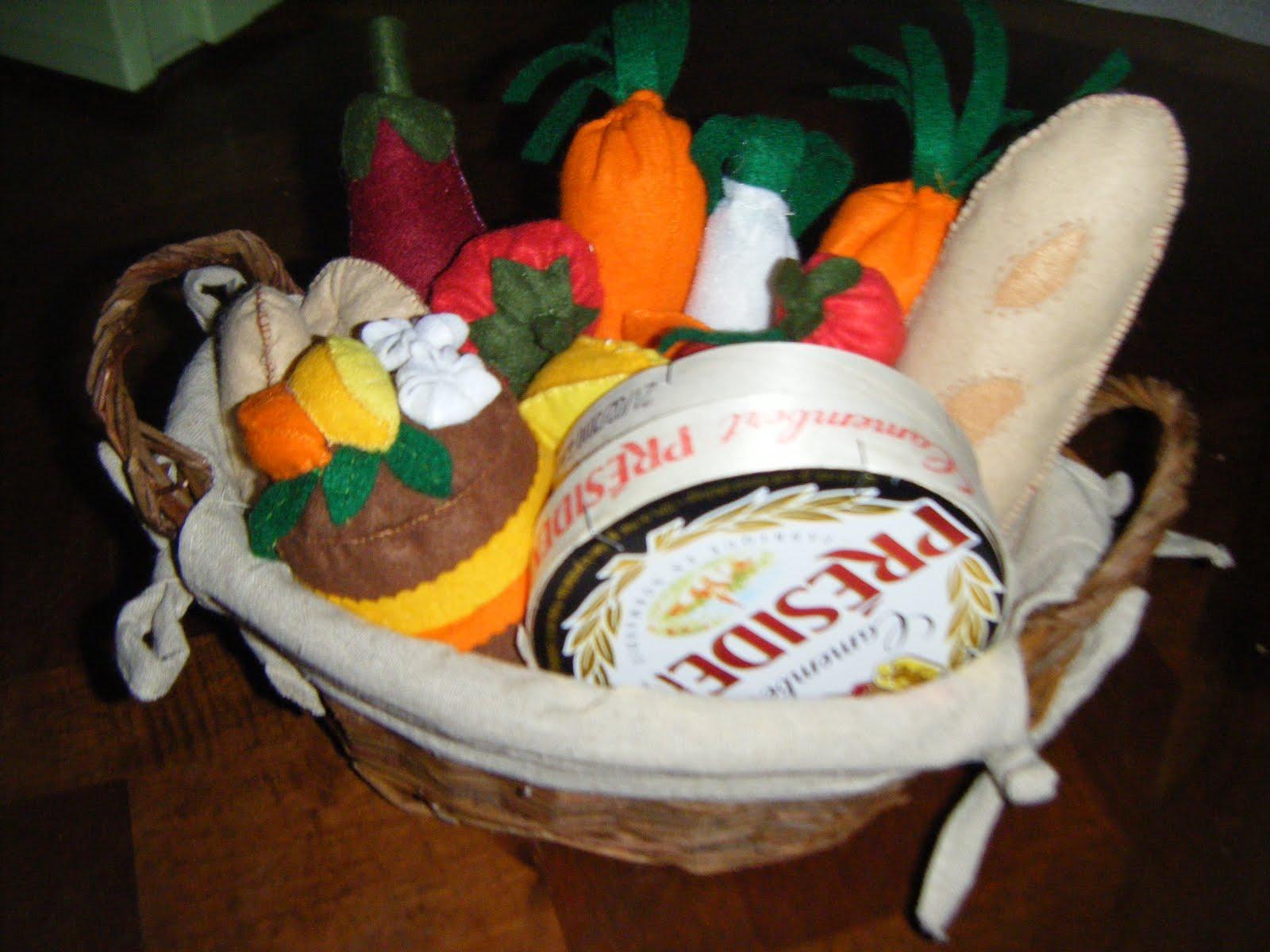 Caramelle et marabout dinette en feutrine - Petit cadeau de table pour noel ...