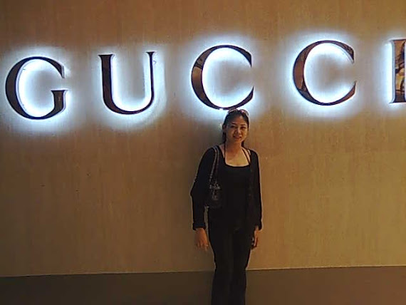 me at Gucci Pavillion