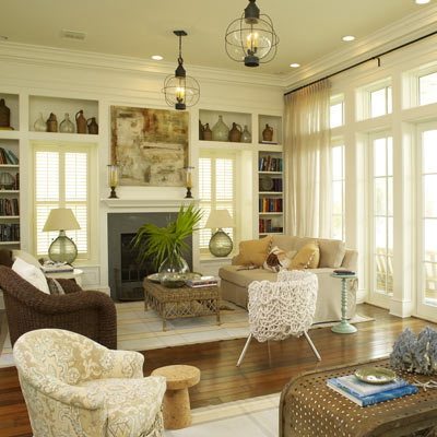 Pictures Traditional Living Rooms on Traditional Living Room Warm Tones Interior Rattan Table And Fireplace