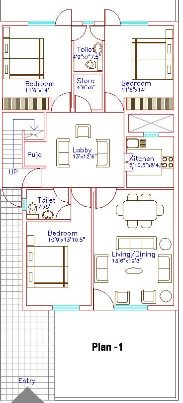 Map House Plan