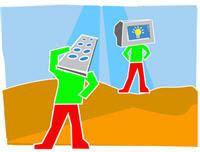 Afbeelding Mediawijsheid, overgenomen van site Virtueel Platform