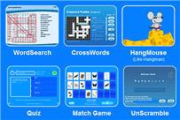 Naar de site Learning Vocabulary Fun