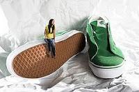 afbeelding van heel grote schoenen