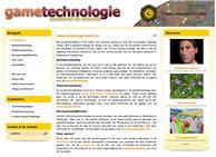 Klik hier om naar de website van de studierichting Gametechnologie te gaan