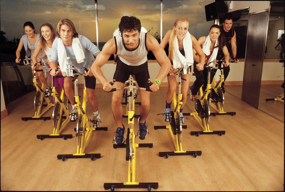 Q 39 ued up spinning for fitness for Clases de spinning