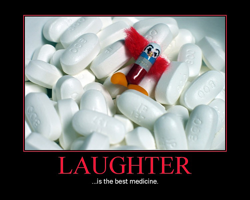laughter is the best medicine for