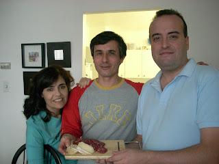 Viviana, Pablo y el salame