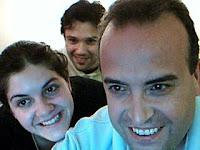 Con Adrian y Romi