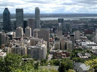 Montreal desde el mirador del parque Mont Royal