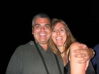 Fabian y Silvina... felíz cumple Silvi!