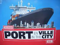 Día del puerto en la ciudad